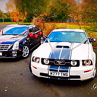 GT Chauffeurs Wedding car