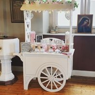 Candy Ever After Sweets and Candies Cart