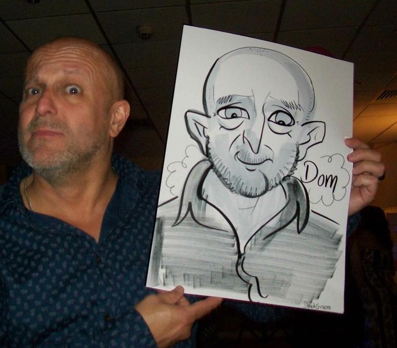 Groves Caricatures - Caricaturist  - West Sussex - West Sussex photo