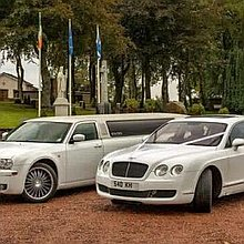 Enchanted Limousines and Wedding Cars Wedding car