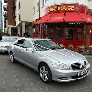 BB Cars Chauffeur Service Wedding car