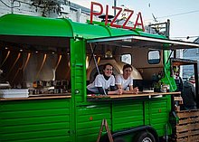 Fire & Dough Pizza Van