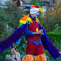 Cake's Entertainment Stilt Walker