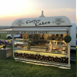 Select Coffee Ice Cream Cart