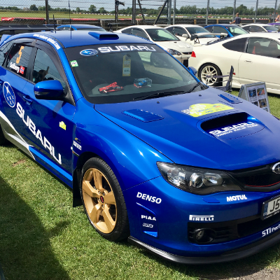 Subaru World Rally Car Chauffeur Driven Car