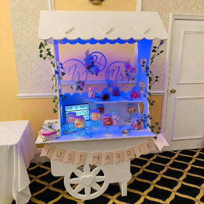 Be Our Guests Sweets and Candies Cart
