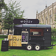 The Woozy Pig Burger Van
