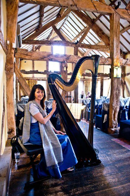 Oona Linnett Harpist - Solo Musician  - Chester - Cheshire photo