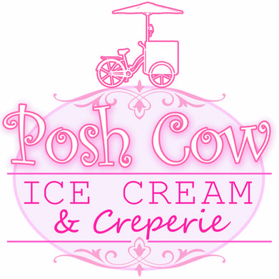 Posh Cow Ice Cream & Creperie Mobile Caterer
