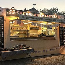D C Catering Fish and Chip Van