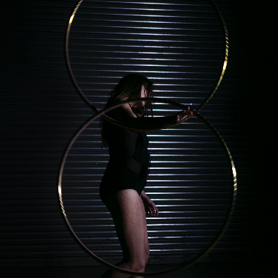 Project Hoop Burlesque Dancer