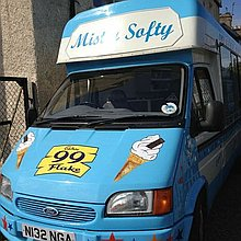 Phil Macones Ices Ltd Ice Cream Cart