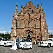 Excalibur Wedding Cars Wedding car