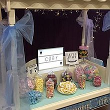 Candy Cart Kingdom Popcorn Cart