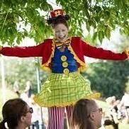 Millie Wilkie the Stilt Walker Circus Entertainment