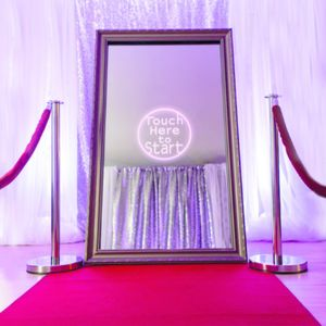 A1 Magic Mirror Hire Photo Booth