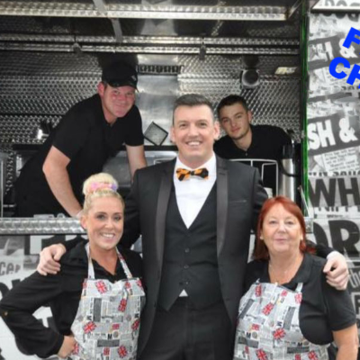 Harrys Fish and Chip Van Wedding Catering