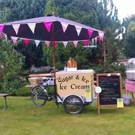 Sugar & Ice - Catering , Bideford,  Candy Floss Machine, Bideford Ice Cream Cart, Bideford