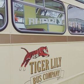 Tiger Lily Bus Company Mobile Bar