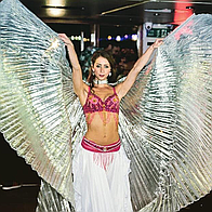 Laura Kenyon Bollywood Dancer