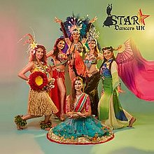 Star Dancers UK Latin & Flamenco Dancer