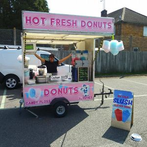 King of The Ring Donuts Sweets and Candy Cart