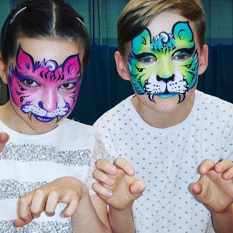 Geordie Face Painter Children Entertainment