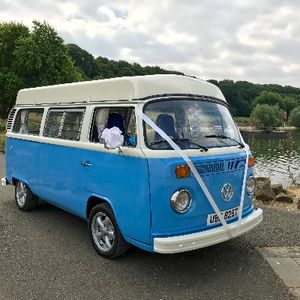 Blue Moon Bay VW Hire Vintage & Classic Wedding Car