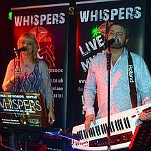 WHISPERS Function Music Band