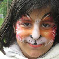 TigerTiger Face Painting Children Entertainment