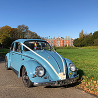 The Little Blue Bug VW Hire Vintage & Classic Wedding Car