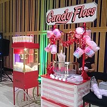 Candy Floss Events Popcorn Cart