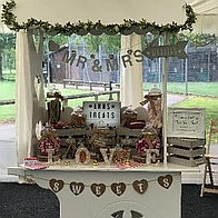 Ann's Treats Sweets and Candies Cart