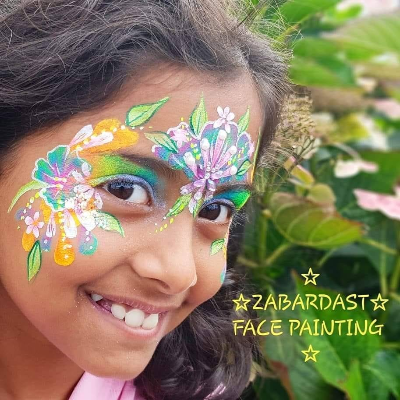 Zabardast Face Painting Children Entertainment