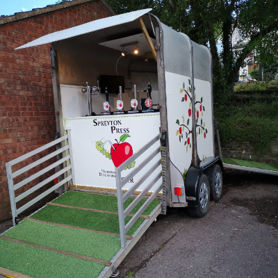 Spreyton Press Cider Mobile Bar