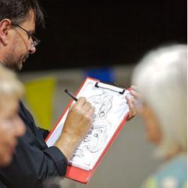 Steven Garner Caricaturist