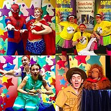 Dantastic Productions Clown