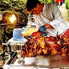 North East Pig On A Spit Hog Roast Company Buffet Catering