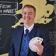 Brian O'Leary Magic Wedding Magician
