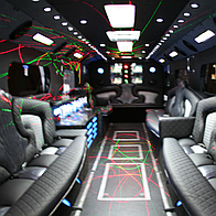 The Party Bus People Wedding car