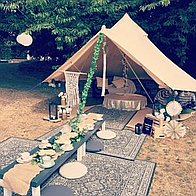 PeanutButter & Jelly Events Bell Tent