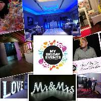 My Big Day Events - Photo or Video Services , St Albans, DJ , St Albans, Event Equipment , St Albans,  Projector and Screen, St Albans Lighting Equipment, St Albans Stage, St Albans