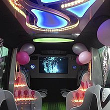 Swift Travel Services Party Bus