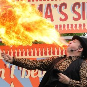 Mr Magic Entertainments Fire Eater