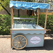 Truly Scrumptious Catering Van Ice Cream Cart