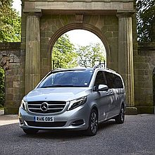 Entourage Executive Cars Wedding car