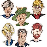 Caricatures On Demand Caricaturist