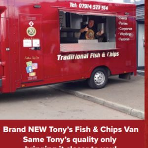 Tony's On The Go Fish And Chip Van - Catering , Glasgow,  Fish and Chip Van, Glasgow