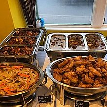 Island Lounge Buffet Catering