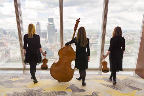 Exclsuive Blue Topaz String Trio - Ensemble , London, Solo Musician , London,  String Quartet, London Violinist, London Classical Ensemble, London